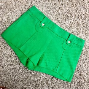 Trina Turk Green Shorts 4